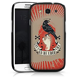 Carcasa Design Funda para Samsung Galaxy S3 i9300 / LTE i9305 HardCase black - see you on the other side