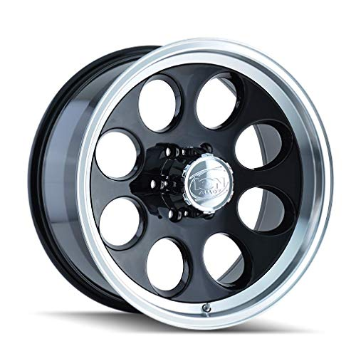 (ION, 171, WHEEL/RIM, BLACK, MACHINED LIP, SIZE 15x8 INCH, 5-114.3, OFFSET