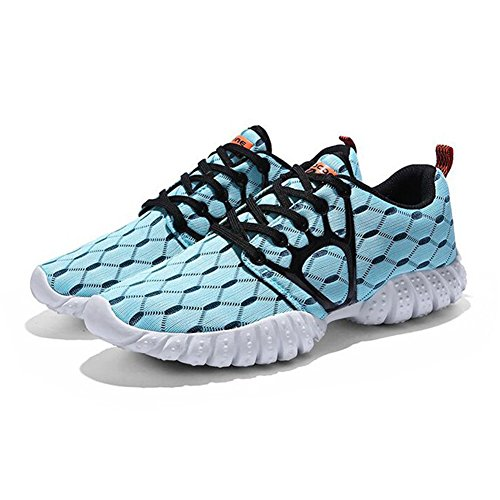 fereshte Couple Unisex Mens Womens Casual Fashion Sneakers Athletic Sport Running Shoes Men-black Blue q4BT66566
