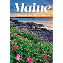 2016 Maine Lighthouses Down East Wall Calendar by Editors of Down East (2015-06-07)