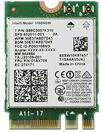 Intel Wireless Generation 802 11AC Bluetooth