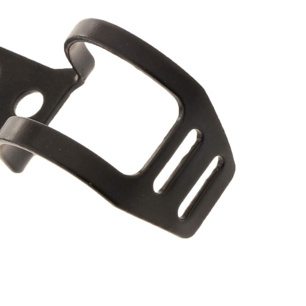 P Prettyia Support de Phare de Moto Peut Ajust/ées Entre 31mm et 39mm pour Harley Prince Noir