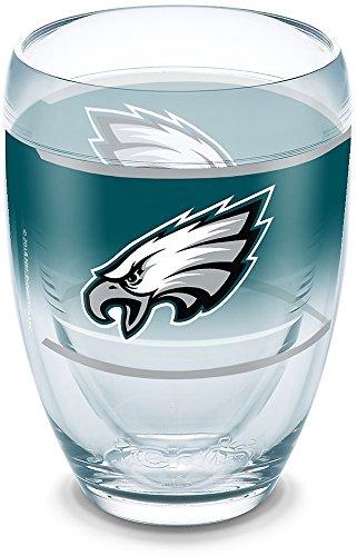 (Tervis 1292843 NFL Philadelphia Eagles Original Tumbler 9 oz Clear)
