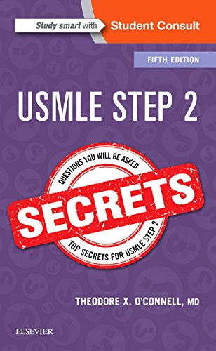 Pdf Medical Books USMLE Step 2 Secrets