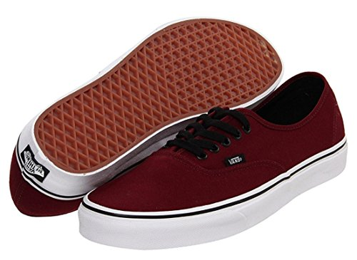 Vans Unisex's AUTHENTIC SKATE SHOES 9 (PORT - Canvas Vans Shoes Men