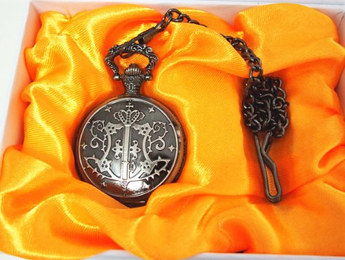 how to set a black butler pocket watch