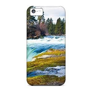 Cute High Quality Iphone 5c Superb River Cascade Case