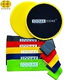 Zodiak Core Premium Sliders and Resistance Loop Bands Set