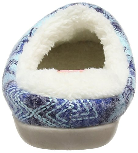 Dunlop Agace, Zapatillas de Estar por Casa para Mujer Azul - azul (azul)