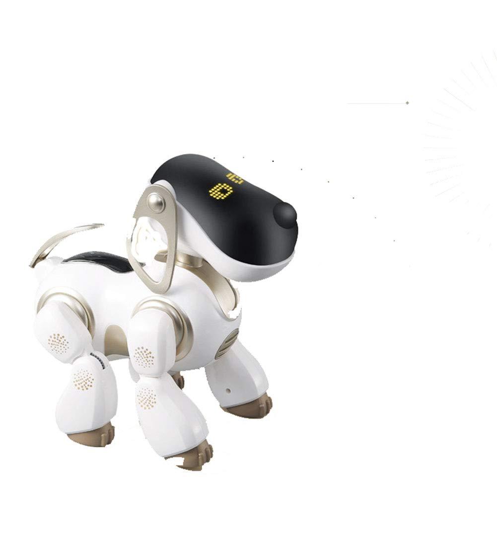 SJZC Roboterhund elektronisches Haustier intelligenter Sensortechnologie Gold 2616.527cm