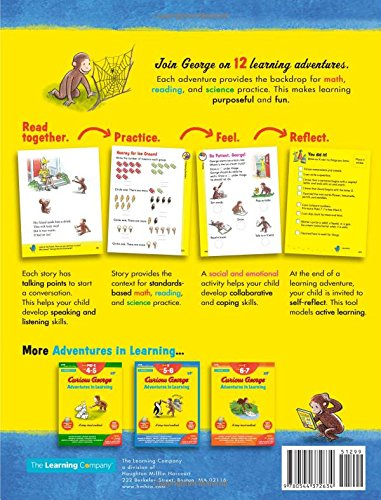Curious George Adventures in Learning, Kindergarten: Story-based ...