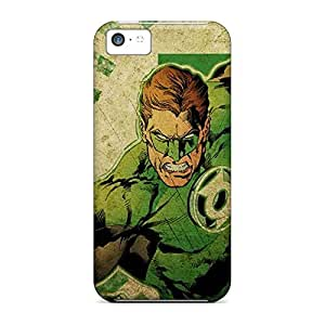 dirt-proof mobile phone back case pictures case iphone 5 / 5s - green lantern