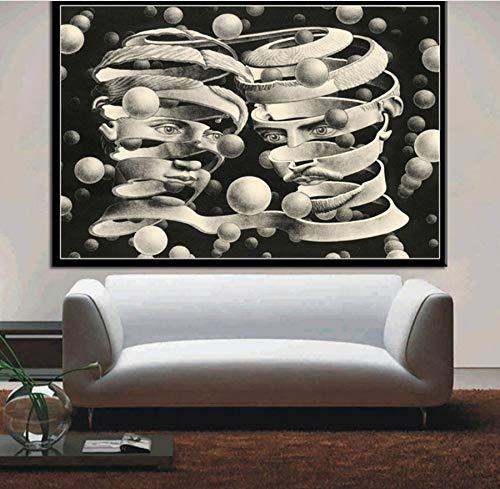 MXIBUN Cartel e Impresiones Surrealista Obra geométrica Arte ...