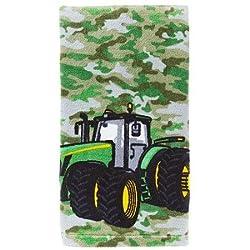 John Deere Camo Tractor Hand Towel