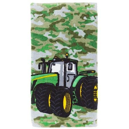 John Deere Camo Tractor Hand Towel ()