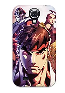 Galaxy S4 Street Fighter Print High Quality Tpu Gel Frame Case Cover