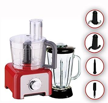 Amazon.de: 1200 Watt Edelstahl Küchenmaschine Mixer Stand Mixer Ice ...