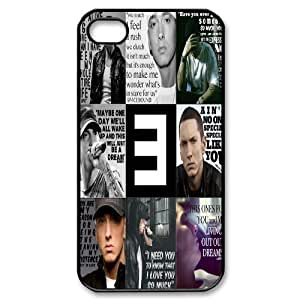 Custom High Quality WUCHAOGUI Phone case Eminem - Super Singer Protective Case For Iphone 4 4S case cover - Case-5