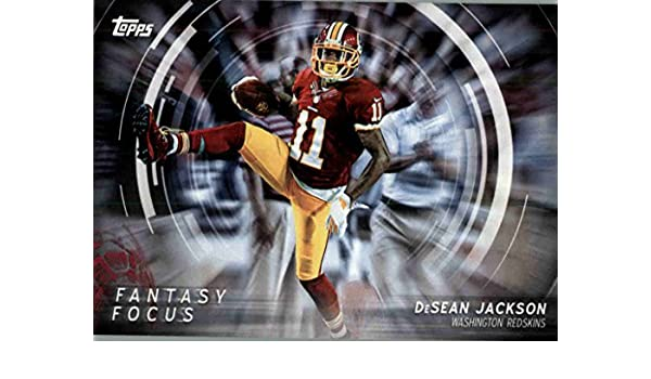 Amazon.com  2015 Topps Fantasy Focus  FFDJ DeSean Jackson - Washington  Redskins (NFL Football Card)  Collectibles   Fine Art 16c00e3de