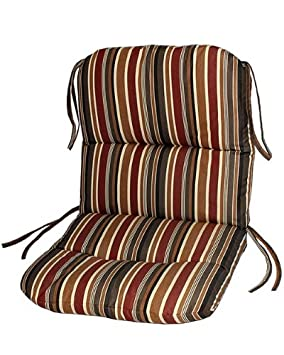 Sunbrella Outdoor Chair Cushion by by Comfort Classics Inc. in Taupe Rib