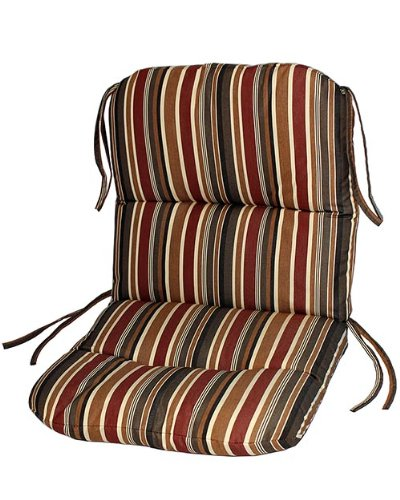 Redwood Patio Furniture Cushions - Sunbrella Outdoor Chair Cushion by by Comfort Classics Inc. in Brannon Redwood
