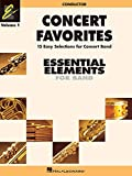 img - for CONCERT FAVORITES VOL1 CONDUCTOR (Essential Elements 2000 Band) book / textbook / text book