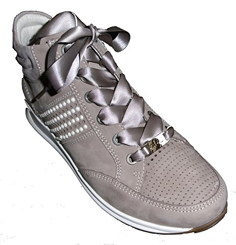 Ara Dames Lederen Sneaker Beige