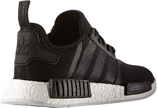 fa8ba5a8a adidas originals NMD R1 mens trainers sneakers shoes black white S79165 uk  8.5 us 9 eu 42 2 3  Amazon.in  Sports