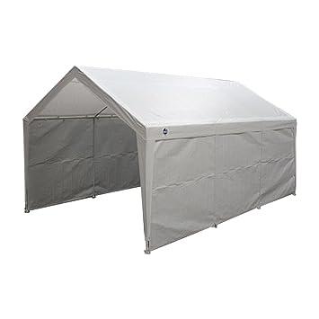 True Shelter 10u0027 x 20u0027 Car Canopy Gazebo Tent Cover 8 Legs Steel Frame  sc 1 st  Amazon.com & Amazon.com: True Shelter 10u0027 x 20u0027 Car Canopy Gazebo Tent Cover 8 ...