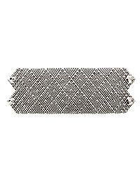 Bracelet B26-N SG Liquid Metal by Sergio Gutierrez. SG pouch & cleaning cloth included. Nickel Chrome