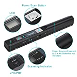 Portable Scanner iSCAN 900 DPI A4 Document
