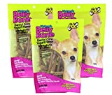 Fido Dental Care Belly Bones For Dogs, Yogurt Flavor – 21 Mini Treats Per Pack, Pack of 3 – Helps to Support Your Dog's Digestive Health Review