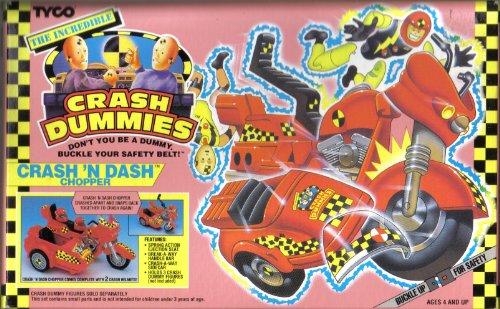 The Incredible Crash Dummies Crash N Dash Chopper -