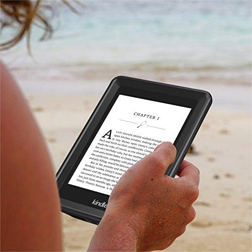 Temdan Kindle Paperwhite Waterproof Case Rugged Sleek Transparent Cover with Built in Screen Protector Waterproof Case for Kindle Paperwhite. by Temdan (Image #6)'