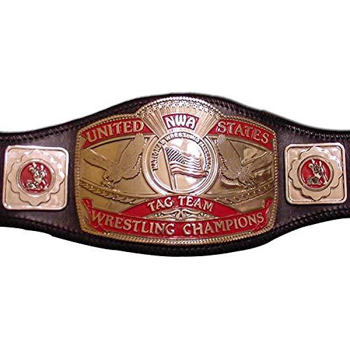 Haiosports NWA U. S. Tag Team Title Replica Belt (Nwa Belt Replica)