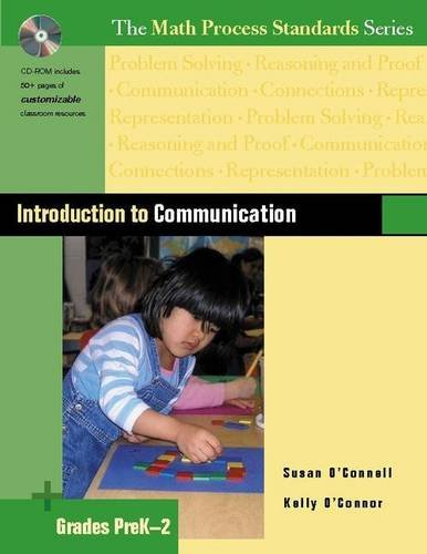 Introduction to Communication, Grades PreK-2 (The Math Process Standards Series, Grades Prek-2)