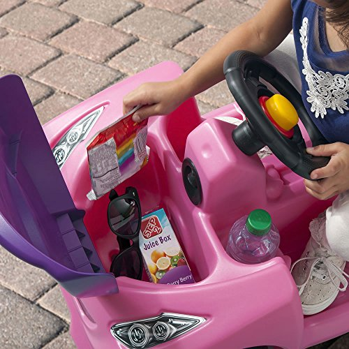5182v3JdBbL - Step2 Push Around Buggy GT, Pink Push Car (Amazon Exclusive)