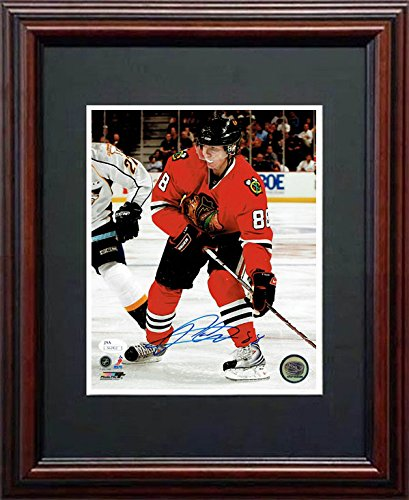 Patrick Kane JSA Signed 8x10 Framed Photo
