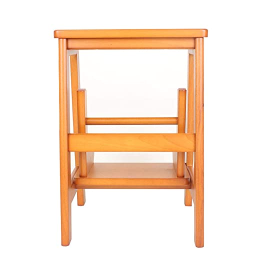 SONGTING Step stool 2 escalones Taburete Escalera Escalera ...