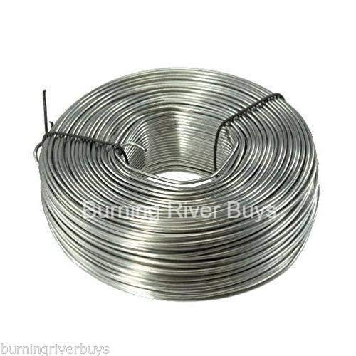 3.5 lb. Coil 16-Gauge Stainless Steel Tie Wire 330 Feet by soundsulate