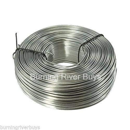 3.5 lb. Coil 16-Gauge Stainless Steel Tie Wire 330 - Ties Pigs
