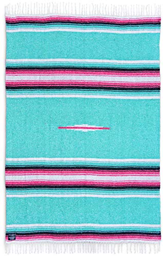 Mexican Blankets Diamond Yoga Blankets: Authentic