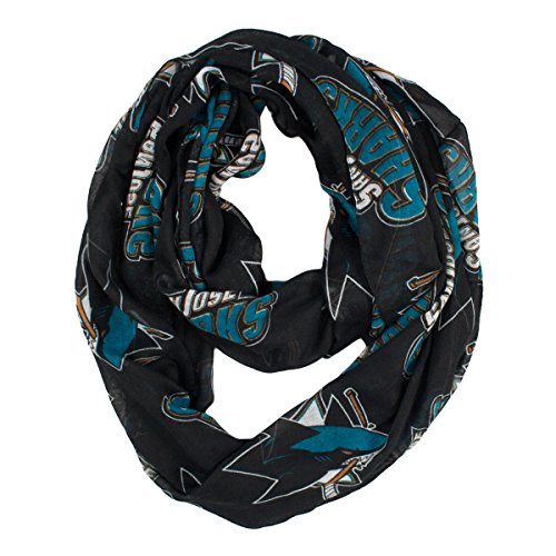 NHL San Jose Sharks  Sheer Infinity Scarf