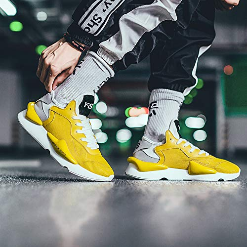 Pour De yellow Tennis Ufatansy D Chaussures Homme qZtw7t