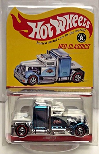 2017 Hot Wheels Red Line Club RLC Exclusive Neo-Classics Series 14 - Convoy Custom (Light Blue) - Only 6,000 Made!