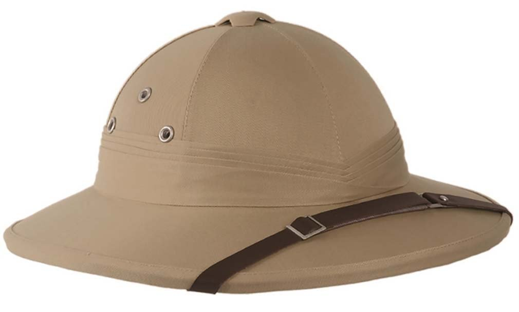 French Army Tropical Pith Helmet in British Khaki Mil-Tec 16687000