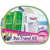 Convenience Kits Women's Garnier Fructis Deluxe 9-Piece Travel Kit