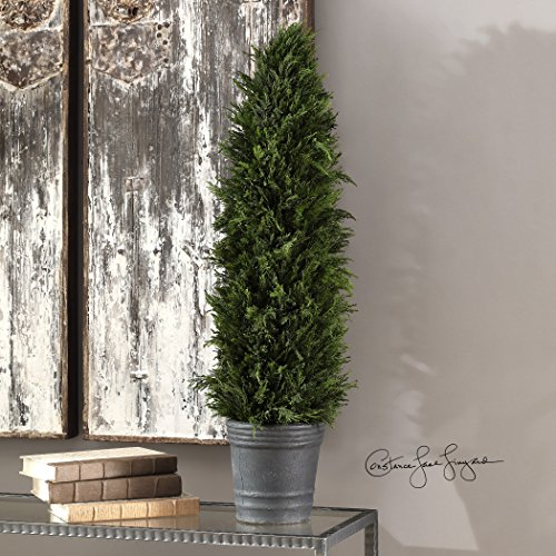 Cypress Cone Topiary by Vhomes Lights