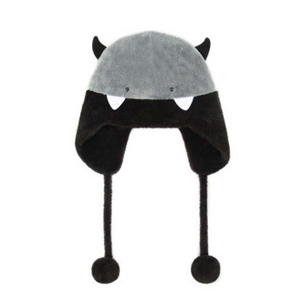 コットンソフトビーニーキャップレディース大人用冬Plush Sweet Cute Winter Hat   B01MQ4GF7D