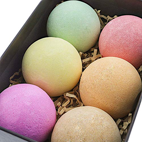 Luxury Spa Bath Bombs Set - 6pk - With Essential Oils That Improve Your Health - Natural & Organic Bathbombs Balls - Best Bath Bomb Gifts Sets for Women, Kids, Men & Birthday from Sink Or Swim Bath Co.
